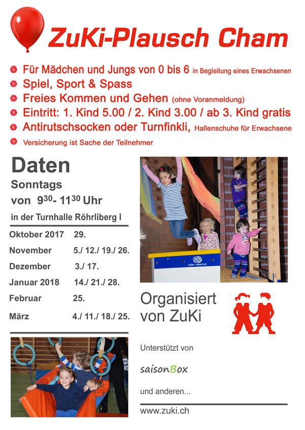 ZuKi-Plausch Cham @ Turnhalle Röhrliberg | Cham | Zug | Schweiz