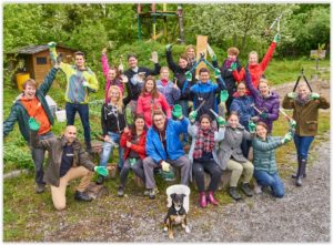 Corporate Volunteering Day - Novartistag der Partnerschaf @ ZuKi's Abenteuerland Teuflibach