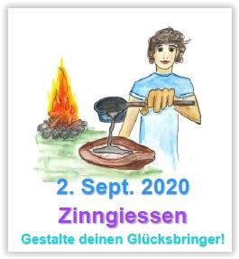 Themenwerken: Zinngiessen @ Abenteuerland ZuKi-am-Teuflibach | Cham | Zug | Schweiz