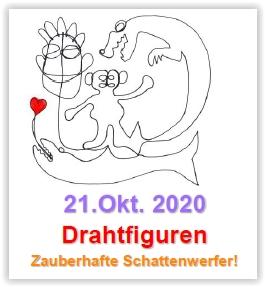 Themenwerken: Drahtfiguren @ Abenteuerland ZuKi-am-Teuflibach | Cham | Zug | Schweiz