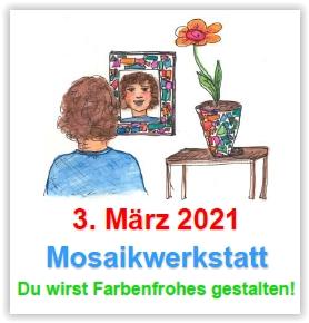 Themenwerken: Mosaikwerkstatt @ Abenteuerland ZuKi-am-Teuflibach | Cham | Zug | Schweiz