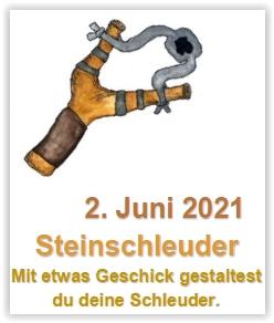 Themenwerken: Steinschleuder @ Abenteuerland ZuKi-am-Teuflibach | Cham | Zug | Schweiz